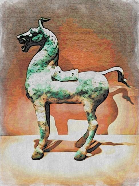 horse_chinese_bronze