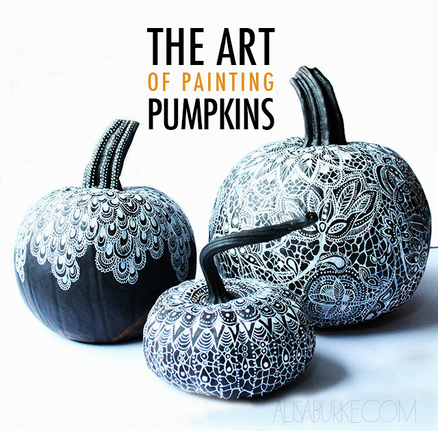 the art of painting pumpkins-2