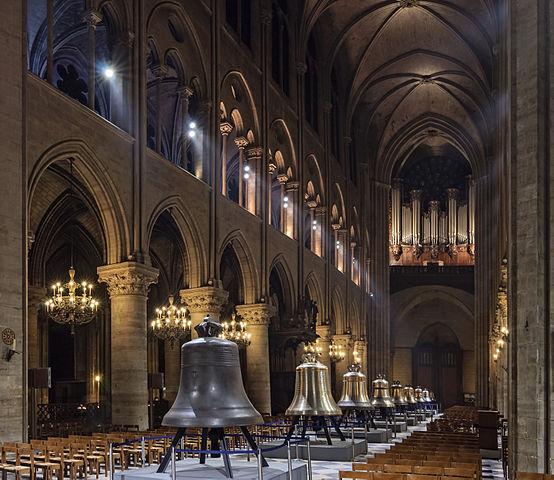 554px-Cathedrale_Notre-Dame_de_Paris_nef_nouvelles_cloches