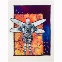 little clown with dragonfly wings by lyric kinard