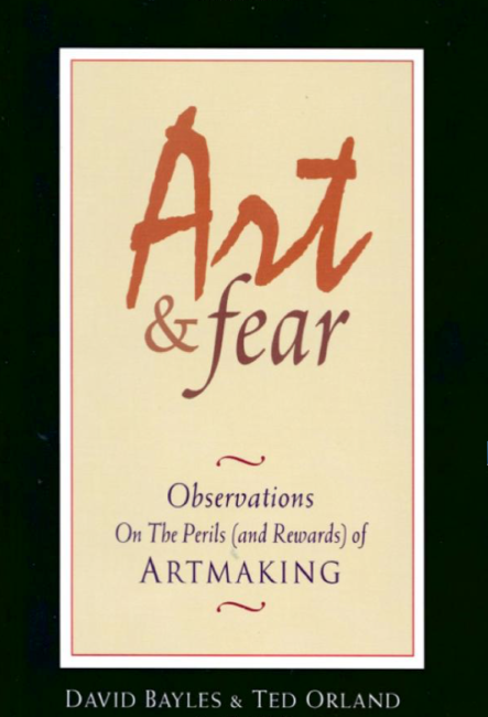 Art and Fear: ten books to read if you want to be an artist