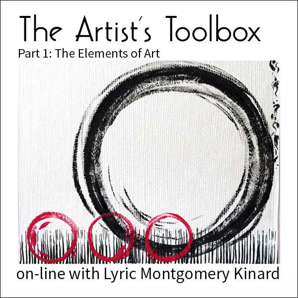 The Artist's Toolbox online with Lyric Kinard