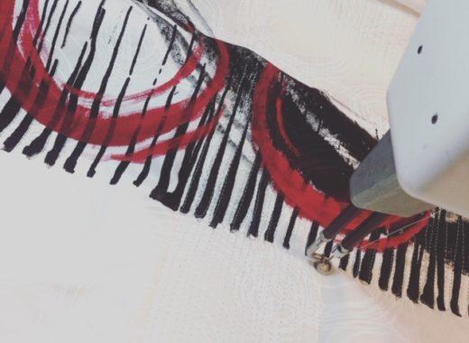 Lyric Kinard's textile art