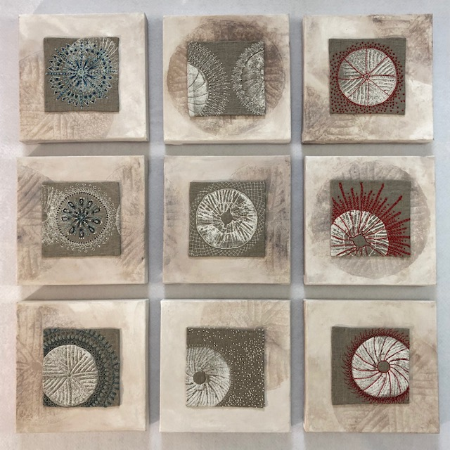 Mill Stone Embroideries by Lyric Kinard