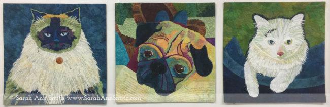 Sarah Ann Smith artwork - critters