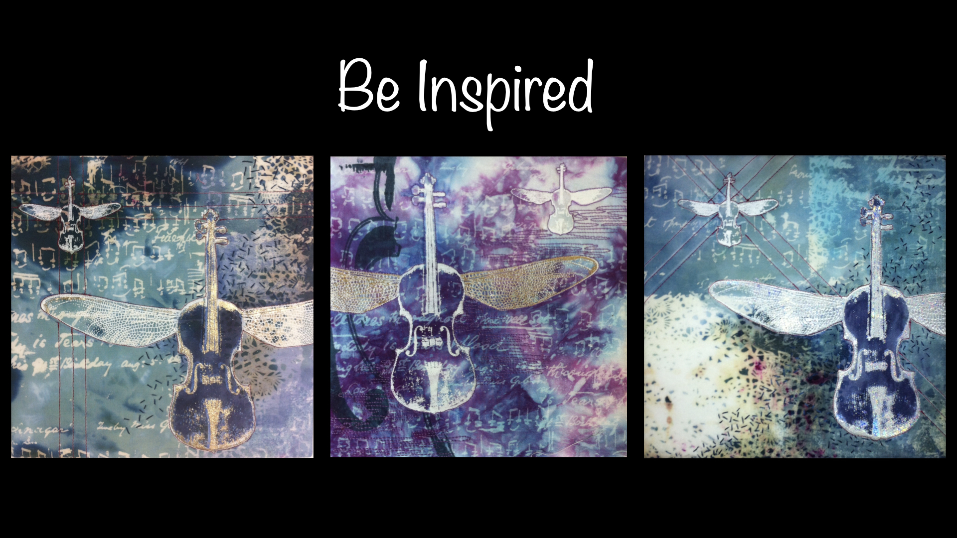 be inspired with photos of lyric's artwork